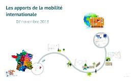 Copy of Les apports de la mobilité internationale