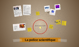La police scientifique