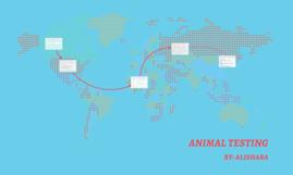 Copy of Animal testing