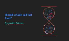 should schools sell fast food?