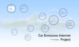 Car Emissions Internet Prodject
