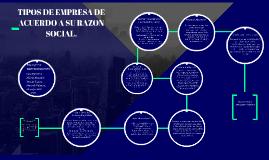 Copy of TIPOS DE EMPRESA DE ACUERDO A SU RAZON SOCIAL