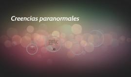 Creencias paranormales