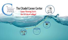 The Citadel, LDRS 101 -Career Planning Fall 2015