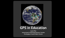 GPS in Education