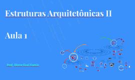 EstruturasArquitetônicas II