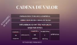 CADENA DE CALOR