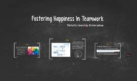 Fostering Happiness In Teamwork