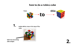 how to do a rubics cube