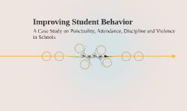 Improving Student Behavior