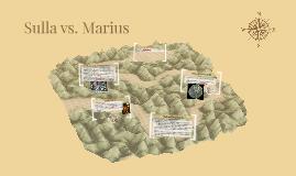 Sulla vs. Marius