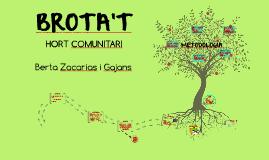BROTA'T Hort comunitari