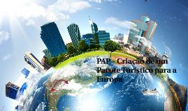 PAP - Criação de um Pacote Turístico para a Europa