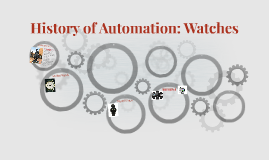 History of Automation: Watches