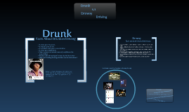 Drunk Driving v.s. Drowsy Driving