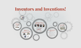 Inventors and Inventions!