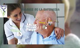 Copy of Valores de la Enfermera