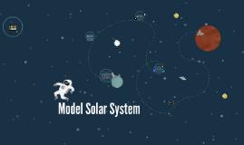 Copy of Model Solar System