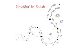 Khushu' In Salah