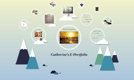 Catherine's E-Portfolio