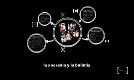 la anorexia y la bulimia