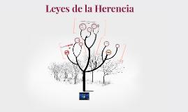 Copy of Leyes de la Herencia