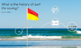 What is the history of surf life saving?