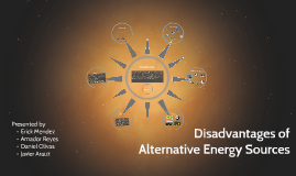 Disadvantages of Alternative Energy Sources