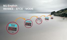 M1 IMABEE - EFCE - MODE