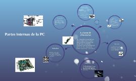 Partes internas de la PC
