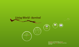 Living World - Survival