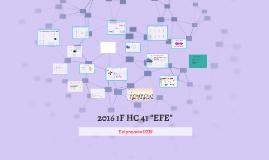 """2016 1F HC 41 """"EFE"""" Unidades de Trabajo"""