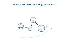 Contact Seminar