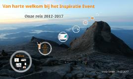 Onze reis - Inspiratie-Event 2017