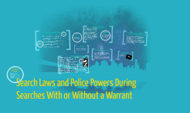 Search Laws and Police Powers During Searches With or Withou