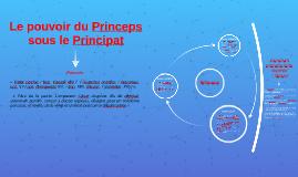 Le pouvoir du princeps