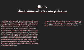 Hitler, între