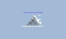 Copy of Mendoza cuenta con una red de áreas naturales protegidas (AN