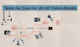 """Sente-me, Ouve-me, Vê-me"", Helena Almeida"