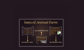 Isms Of Animal Farm