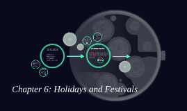 Chapter 6: Holidays and Festivals