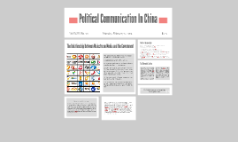 Political Communication In China