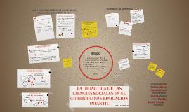 LA DIDACTICA DE LAS CIENCIAS SOCIALES EN EL CURRICULO DE EDU