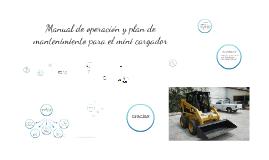 Copy of Manual de operación y plan de mantenimiento para el mini car