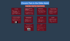 Chronic Pain in the Older Adult