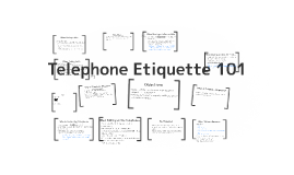 Telephone Etiquette 101