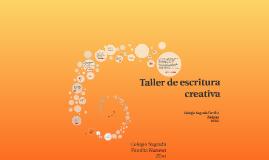 Taller de escritura creativa. 2º ESO B