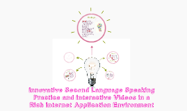Copy of Innovative Second Language Speaking Practice and Interactive