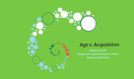 Age v. Acquisition