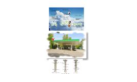Petrol station Infoterminal